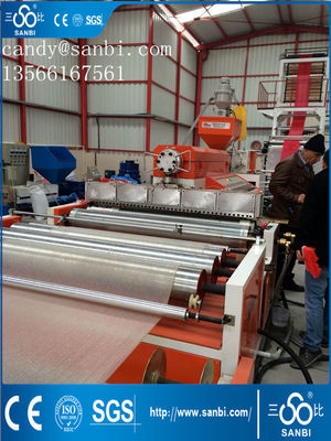 China 50-180kg/h HDPE Film Blazende Machine 10002500mm Breedte ISO9001 verdeler